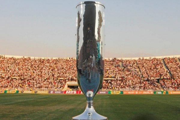 Azules y caturros se disputarán el trofeo de Copa Chile / imagen: Agencia UNO