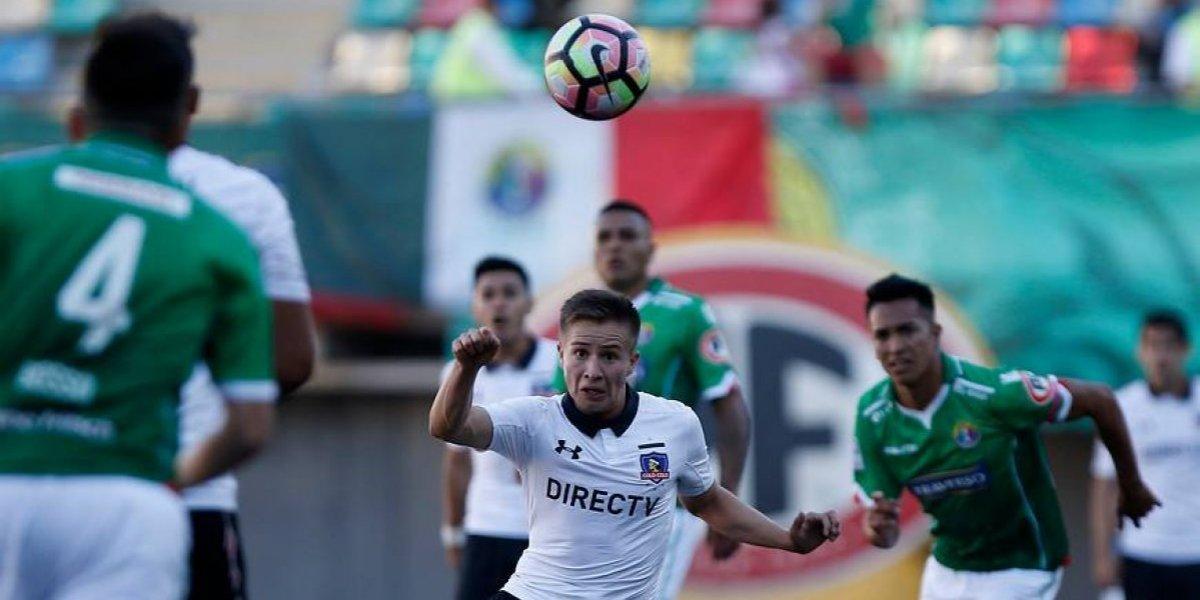 """El joven Berríos niega que Guede juegue de contragolpe en Colo Colo: """"Somos inteligentes"""""""