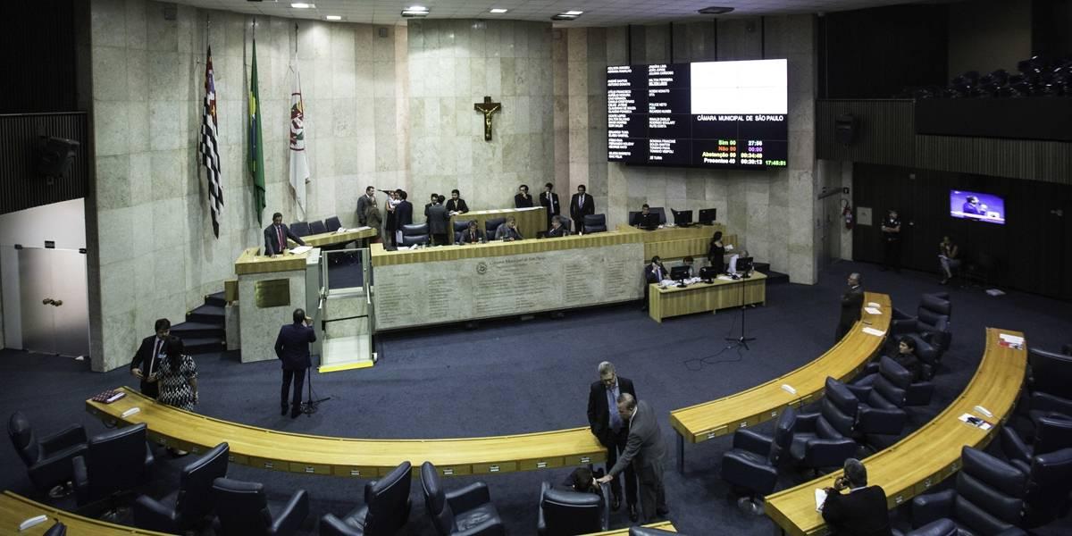 Câmara Municipal de SP não votou nenhum projeto desde a volta do recesso