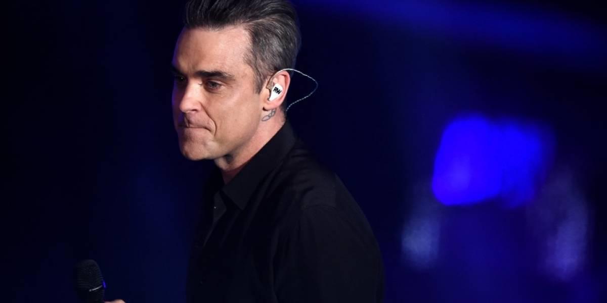 Robbie Williams canceló gira debido a serios problemas de salud