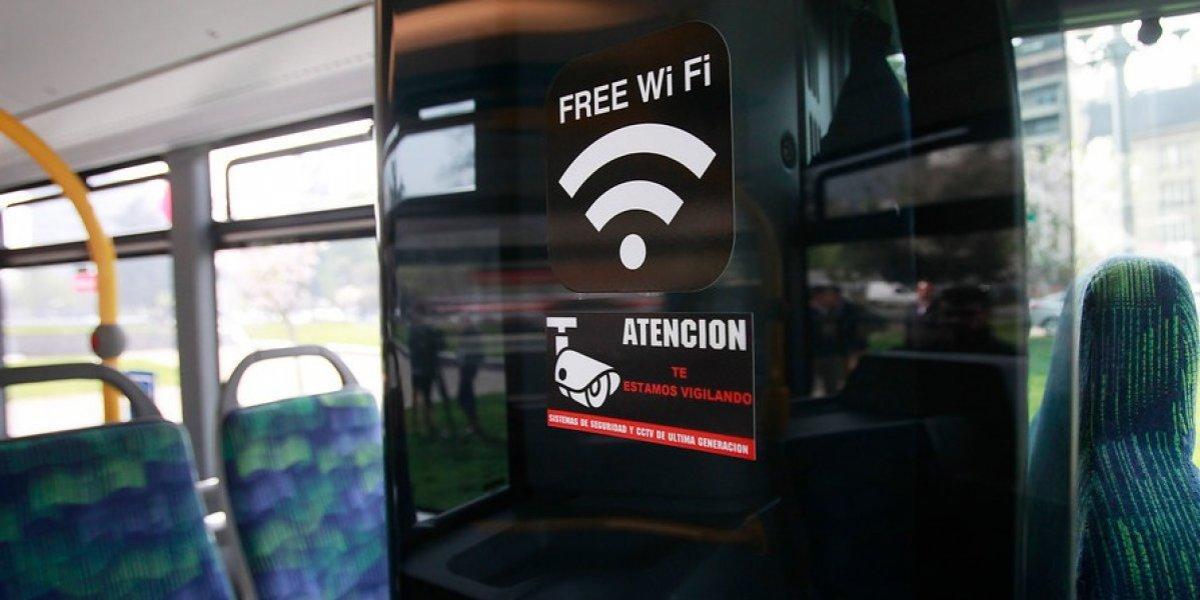 Transantiago 2018: estas serían las comunas que recibirán 90 buses con wifi