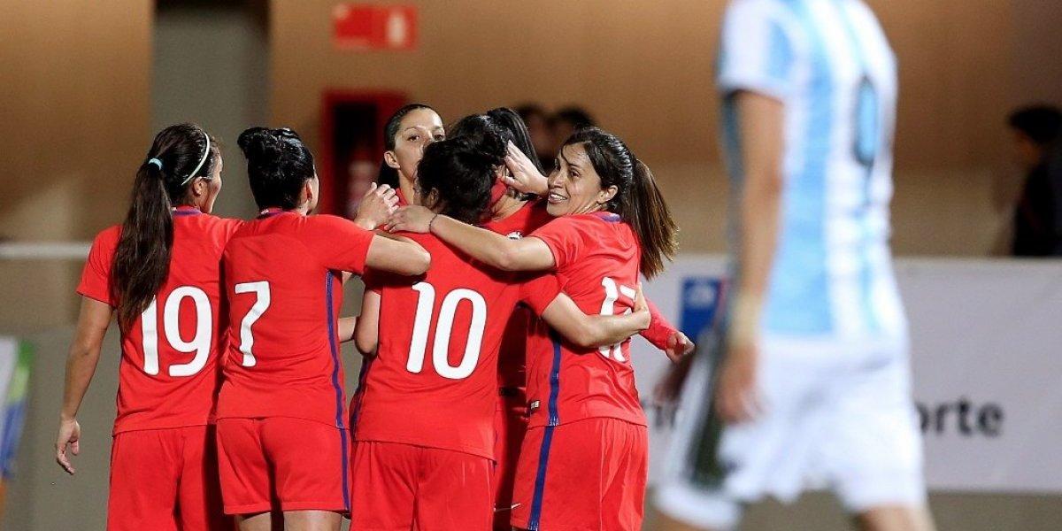 Brillante: la Roja femenina mostró categoría y humilló a Argentina