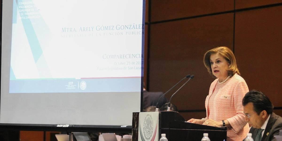 Resoluciones de SFP por caso Odebrecht, fueron frenadas: Arely Gómez