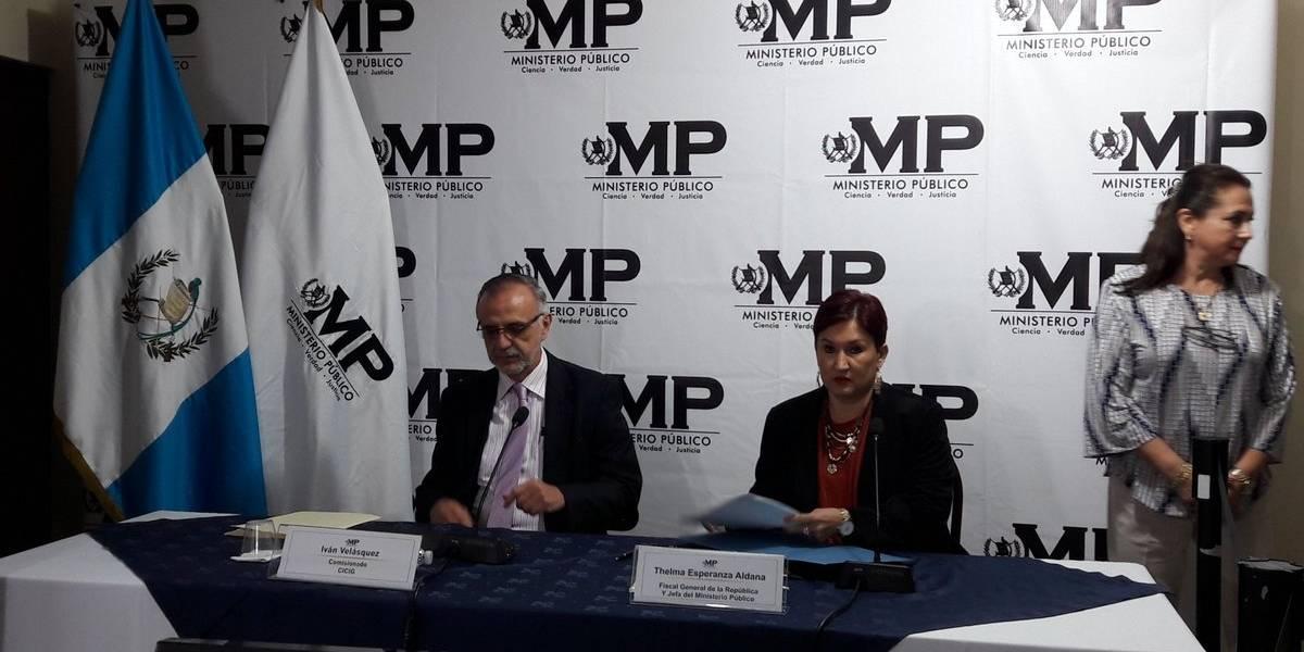 MP y CICIG revelan caso de corrupción en municipalidades de Huehuetenango y Totonicapán