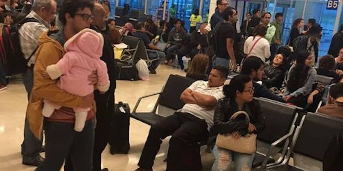 Avión de pasajeros aterriza de emergencia en el Aeropuerto de Veracruz