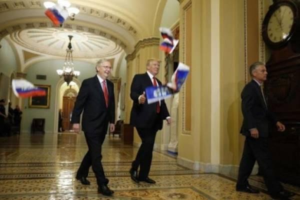 banderas Trump