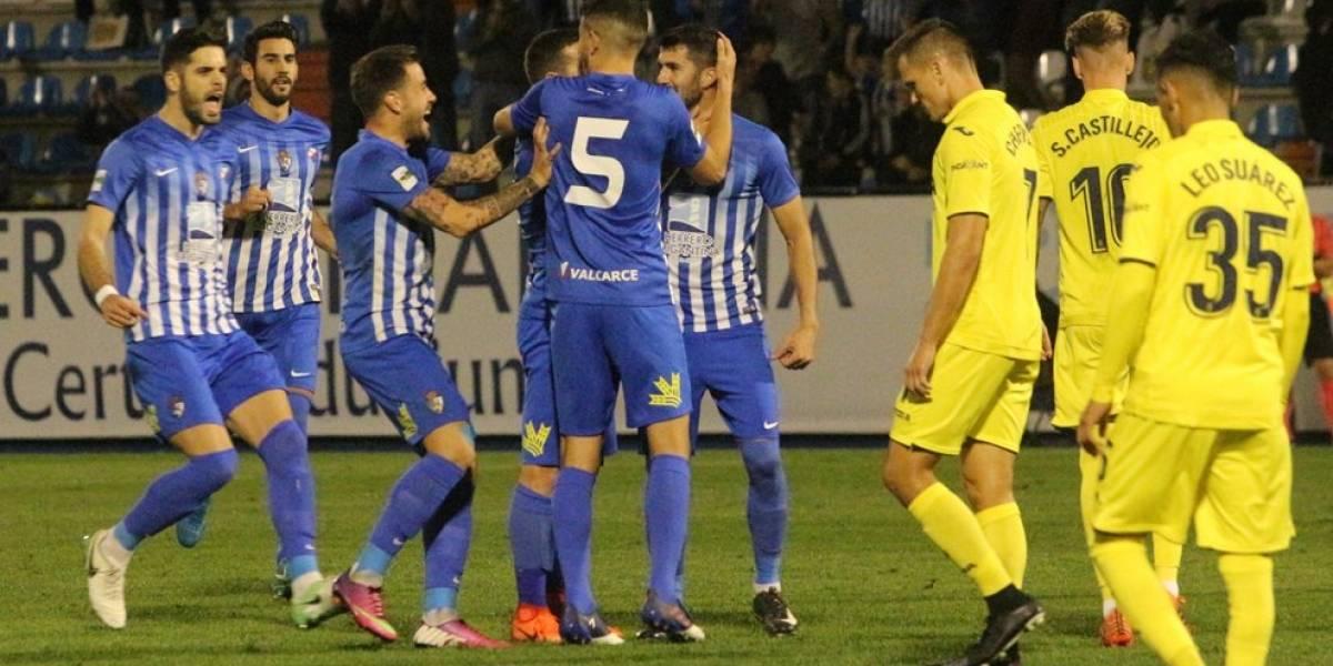 La tercera división dio la sorpresa en los 16vos de final de la Copa del Rey de España