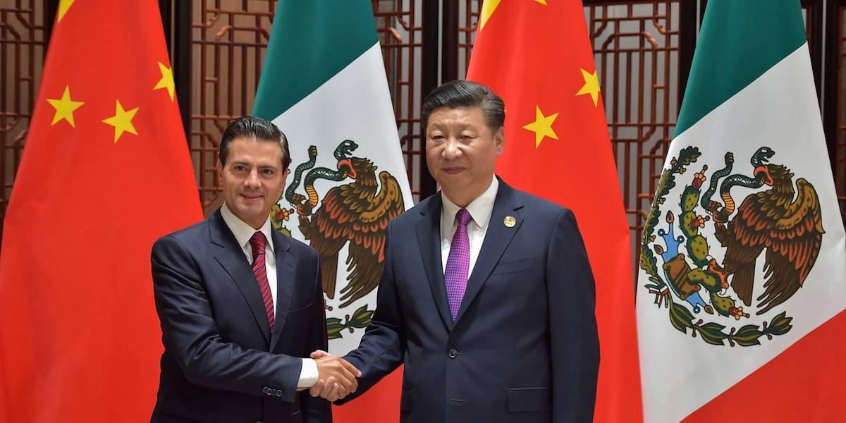 Peña Nieto felicita a Xi Jinping por su reelección al mando del Partido Comunista