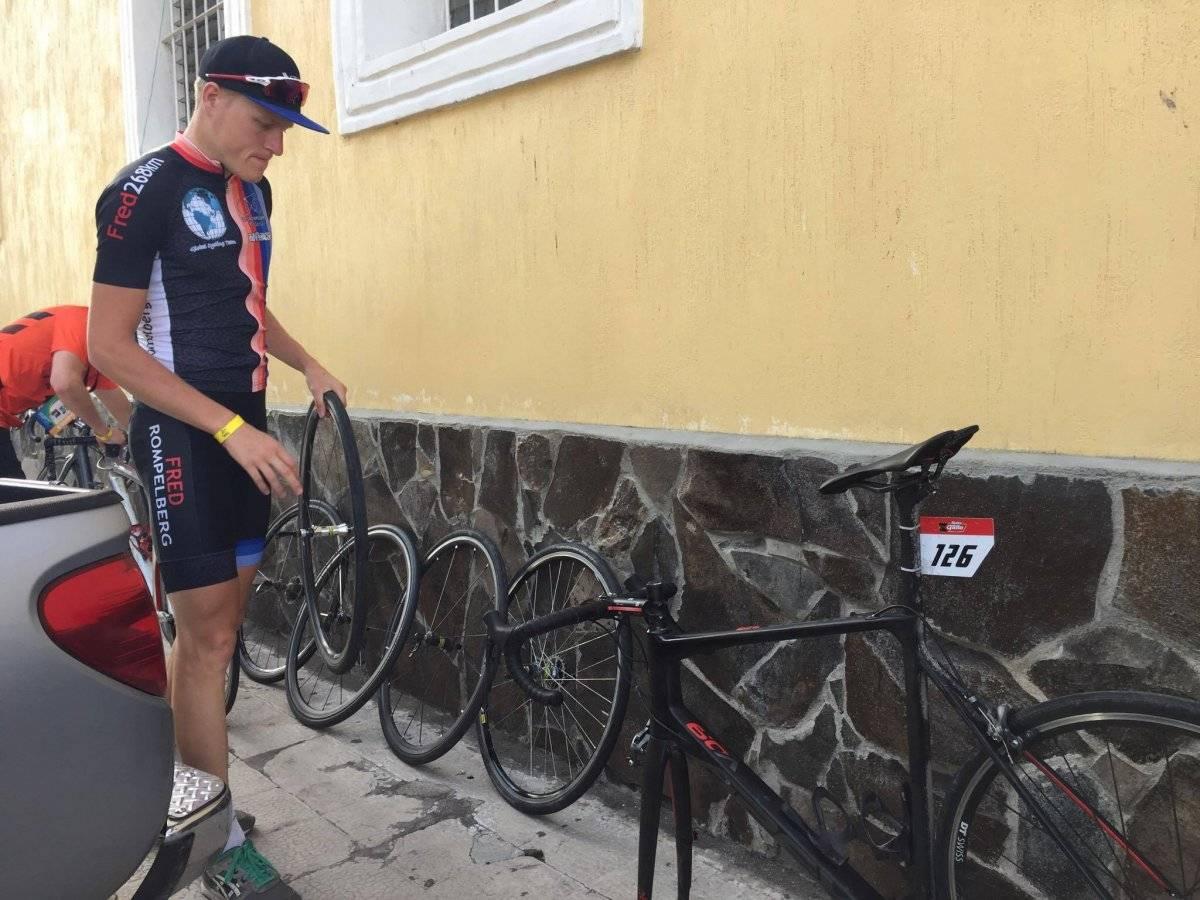 Guatemala busca mantener liderato de la 56 Vuelta Ciclística