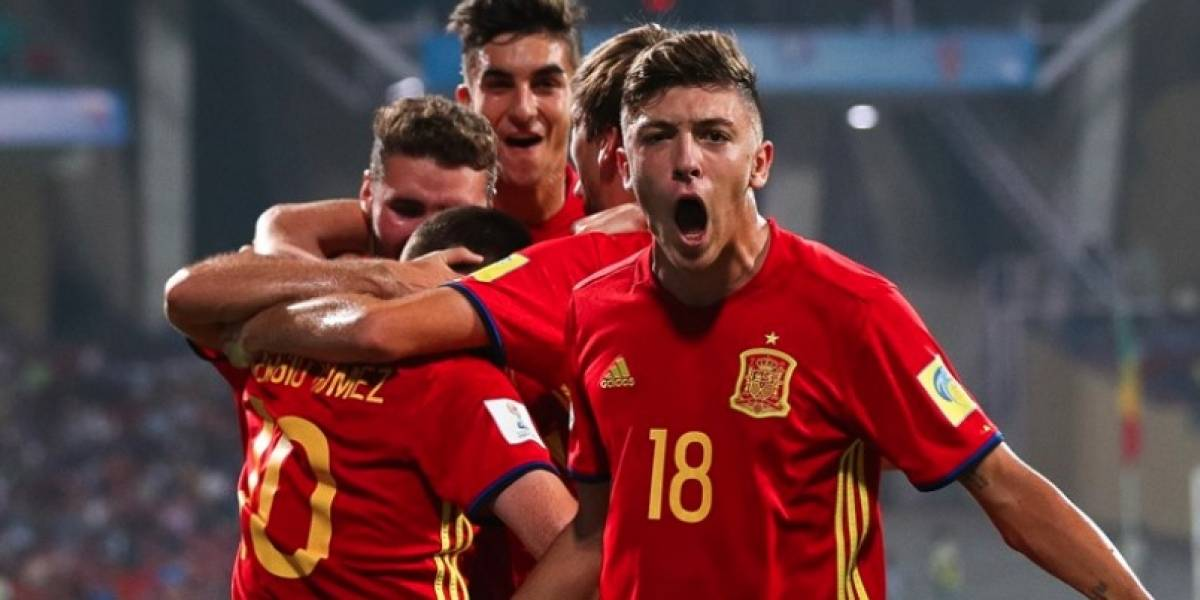 Lista la Final del Mundial Sub-17: Inglaterra vs España