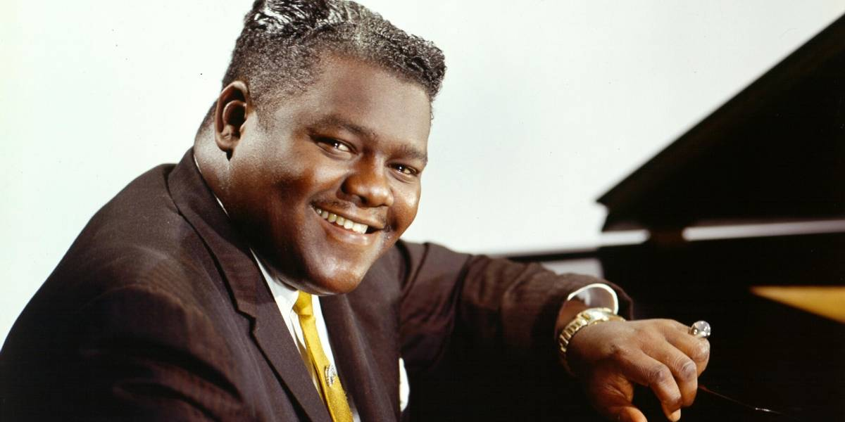 Muere Fats Domino, leyenda del rock and roll