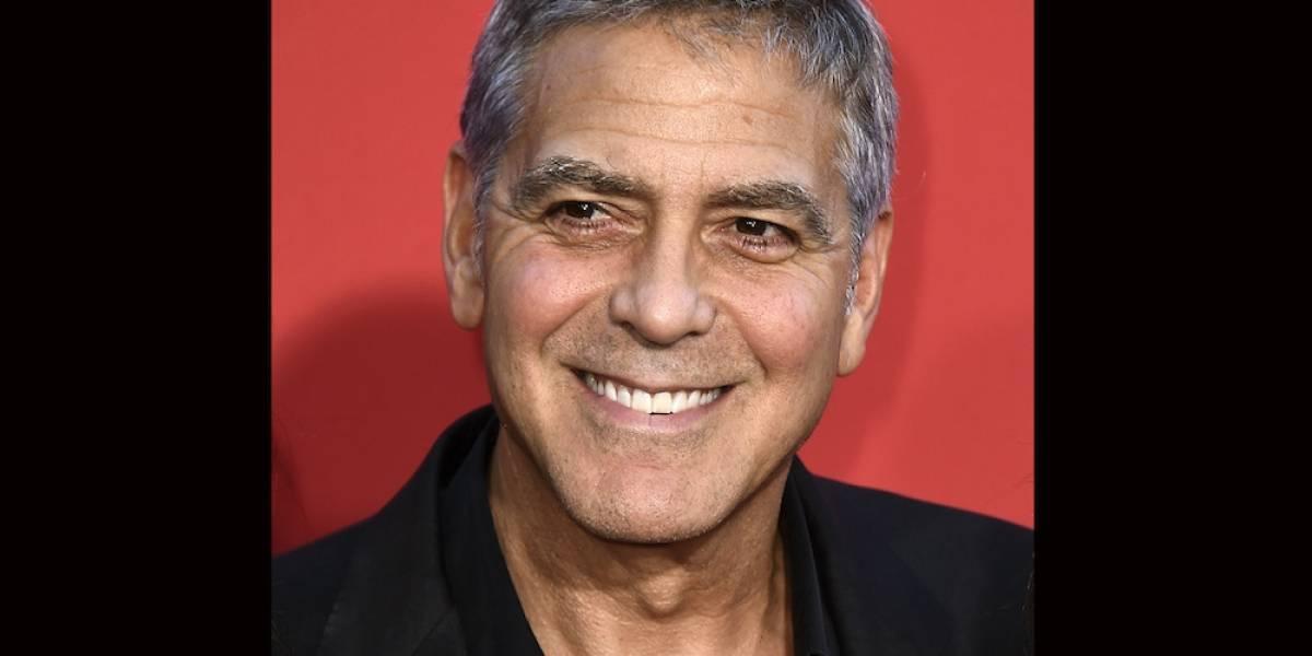 Clooney dona $1 millón para combatir la corrupción en África