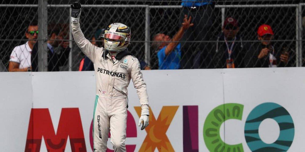 Hamilton, con todo para obtener su cuarto título, en GP de México