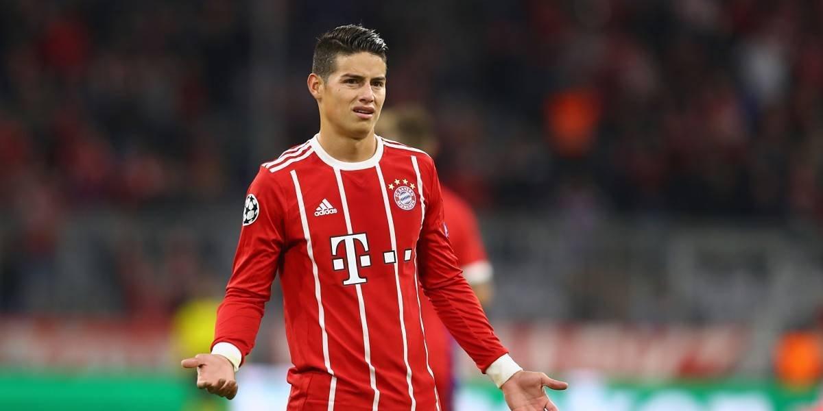 James no se quedaría en el Bayern Múnich y haría la gran 'Figo' en España