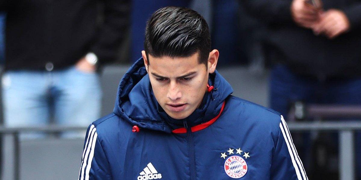 James Rodríguez podría dejar el Bayern en enero, pensando en el Mundial