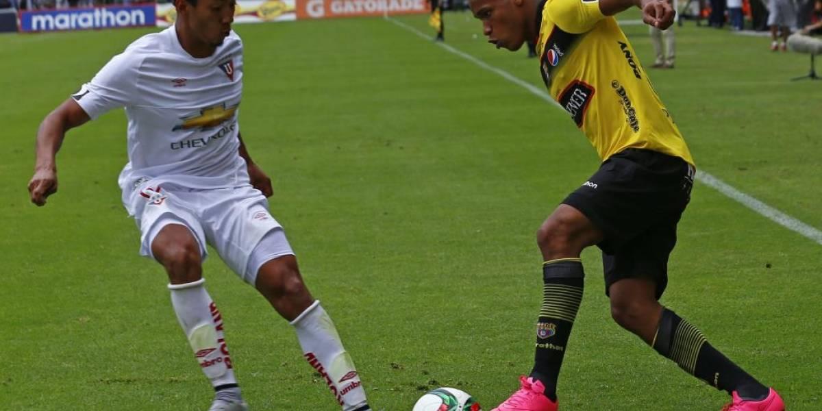 Jugador de Liga de Quito apoya a Barcelona SC en la Libertadores