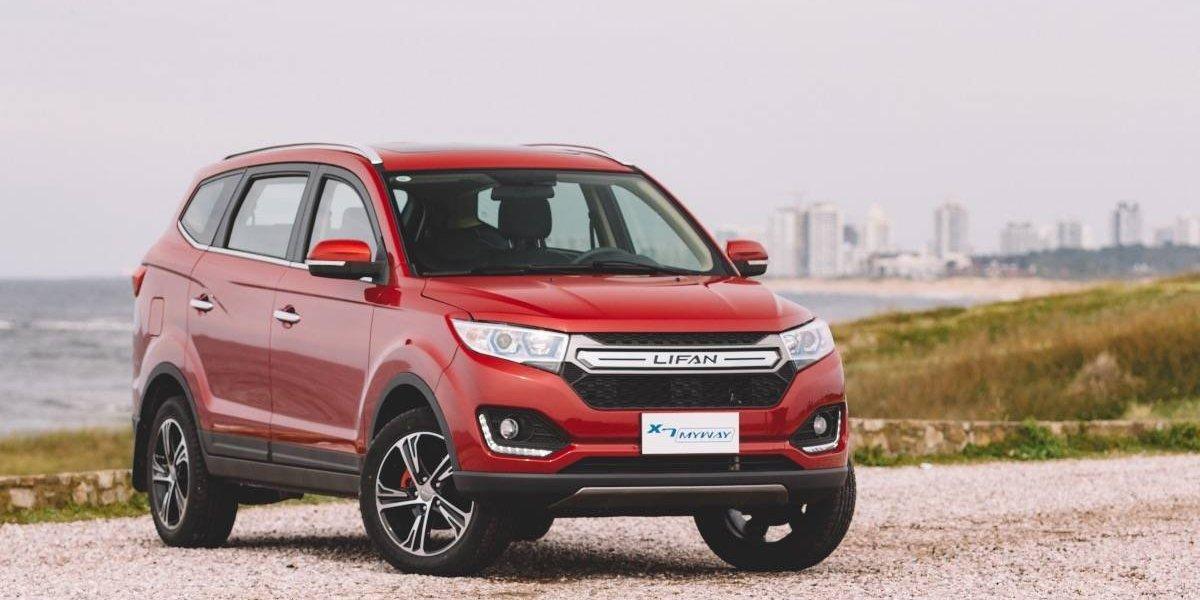 Lifan presentó su primer SUV de siete plazas, el X7 MyWay