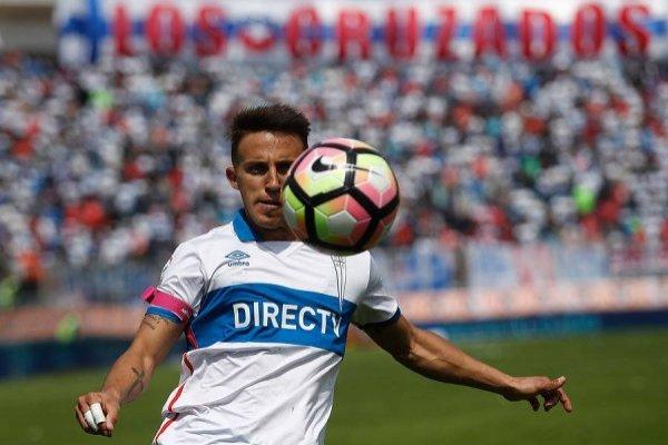 Diego Buonanotte tiene contrato vigente con Universidad Católica hasta mediados de 2019 / Foto: Photosport
