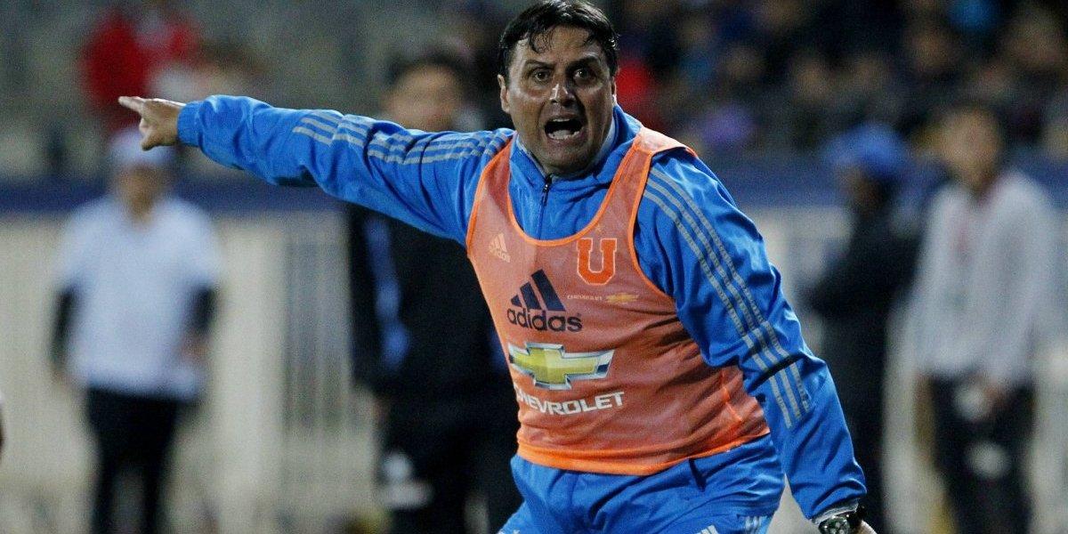 """Hoyos feliz con sus jugadores: """"El plantel derrochó energía para sacar un resultado difícil"""""""