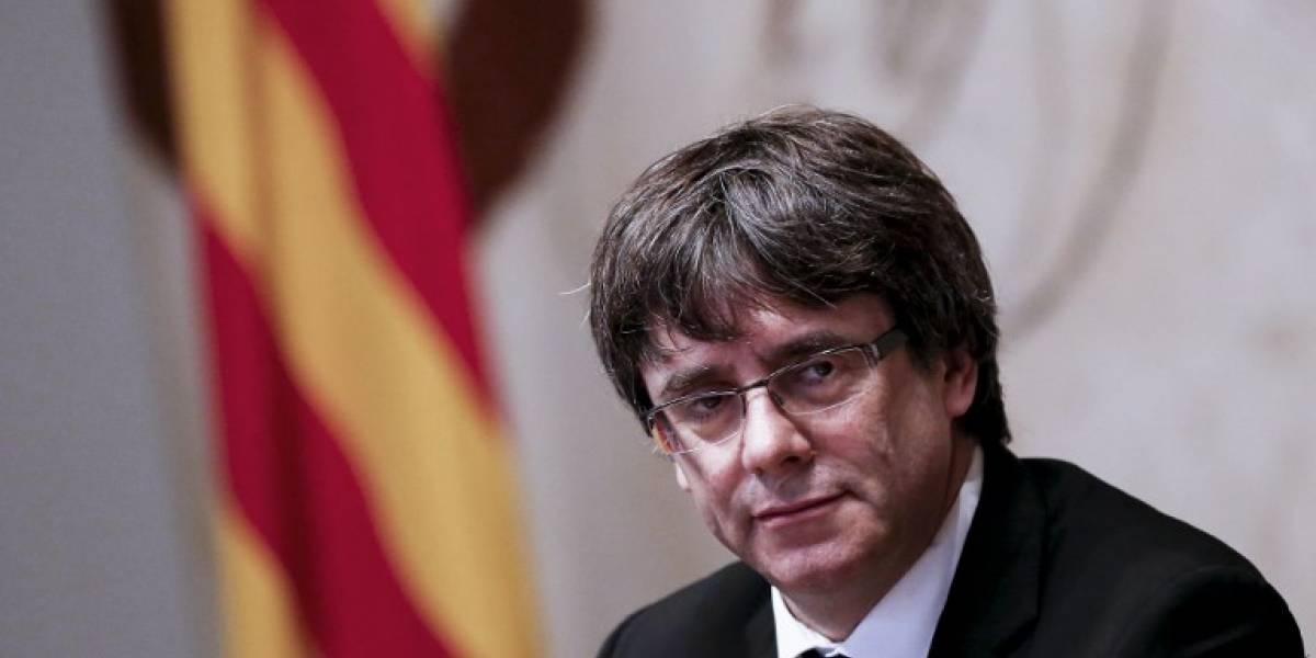 Puigdemont descarta convocar elecciones en Cataluña