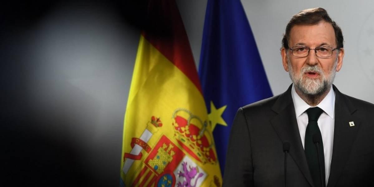 """Rajoy: intervenir la autonomía catalana es """"la única respuesta posible"""""""