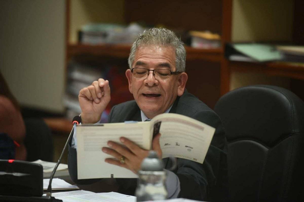 Resolución juez Miguel Gálvez en caso La Línea. Foto: Edwin Bercián