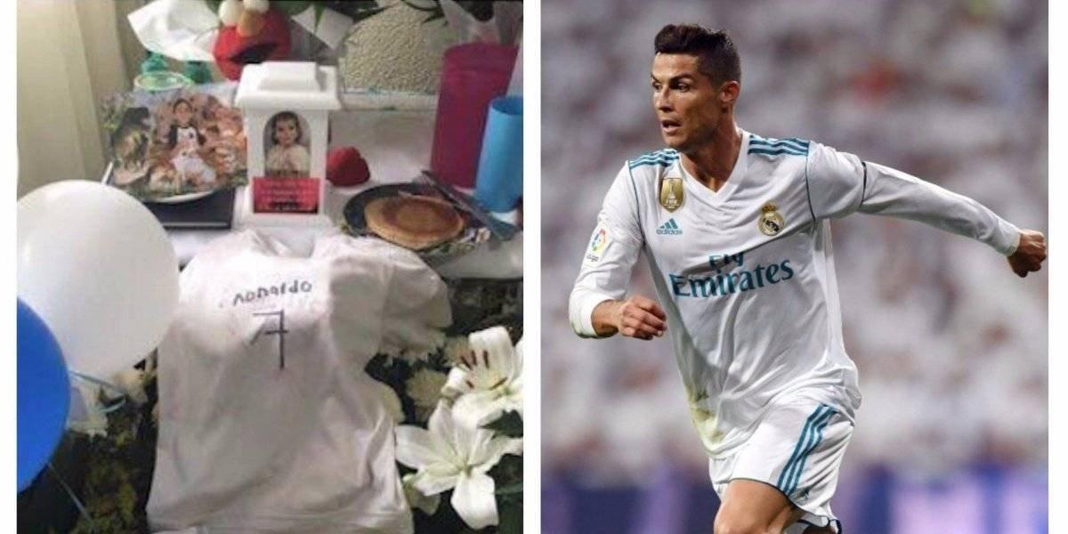 """VIDEO. Más allá de la muerte el pequeño Santiago """"conoce"""" a Cristiano Ronaldo"""