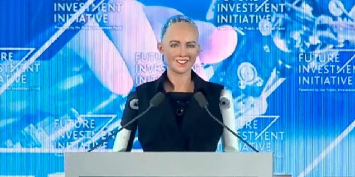 Sophia, la primera robot con ciudadanía