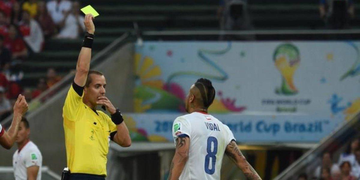 FIFA designa los árbitros para el repechaje y se termina la ilusión de Chile