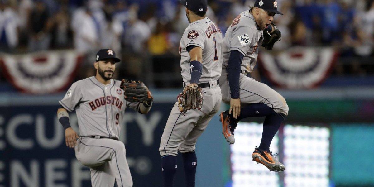 Astros vuelven a Houston con el objetivo cumplido de lograr una victoria