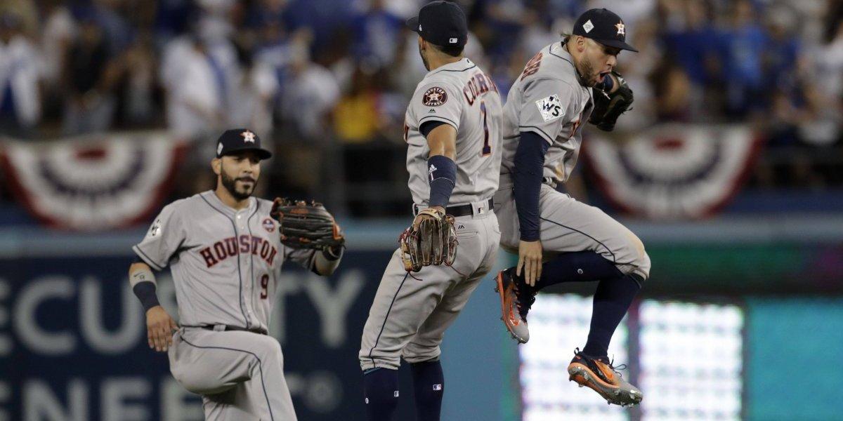 Conexión latina fue clave para primer triunfo de los Astros