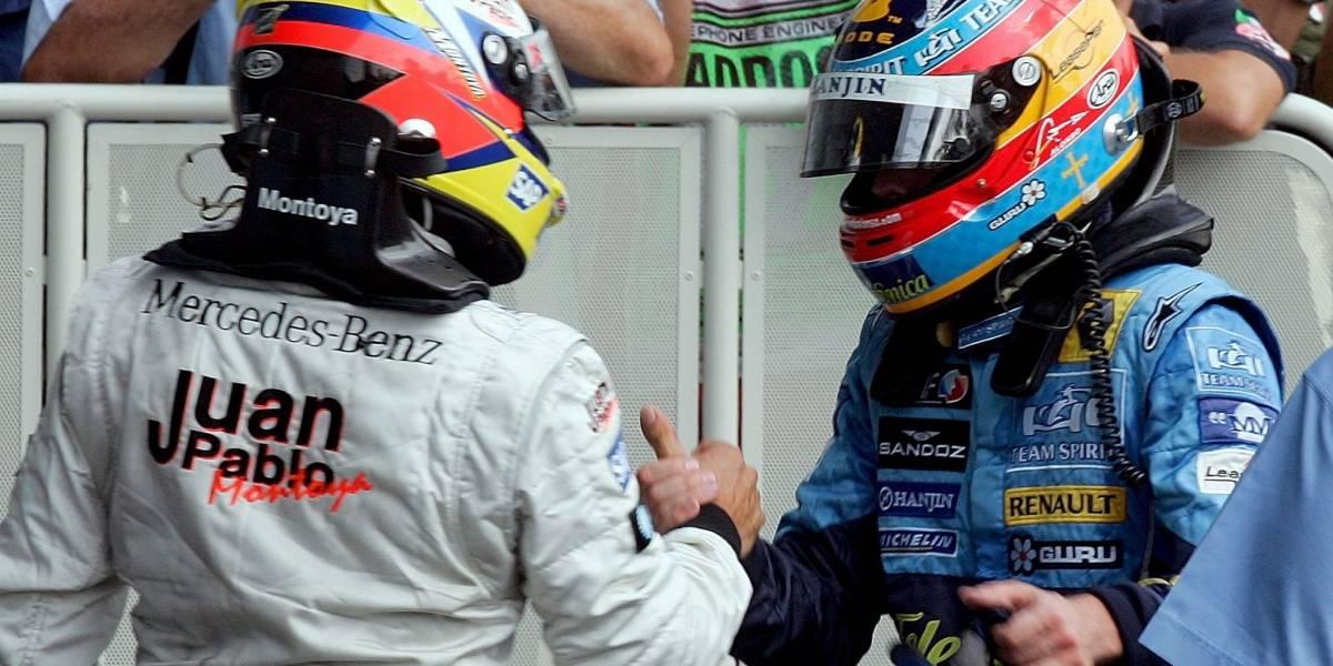 Fernando Alonso luchará con Juan Pablo Montoya en las 24 horas de Daytona
