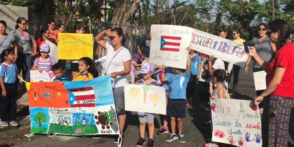 Vídeo: Protesta musical en escuela de Guaynabo porque quieren estudiar