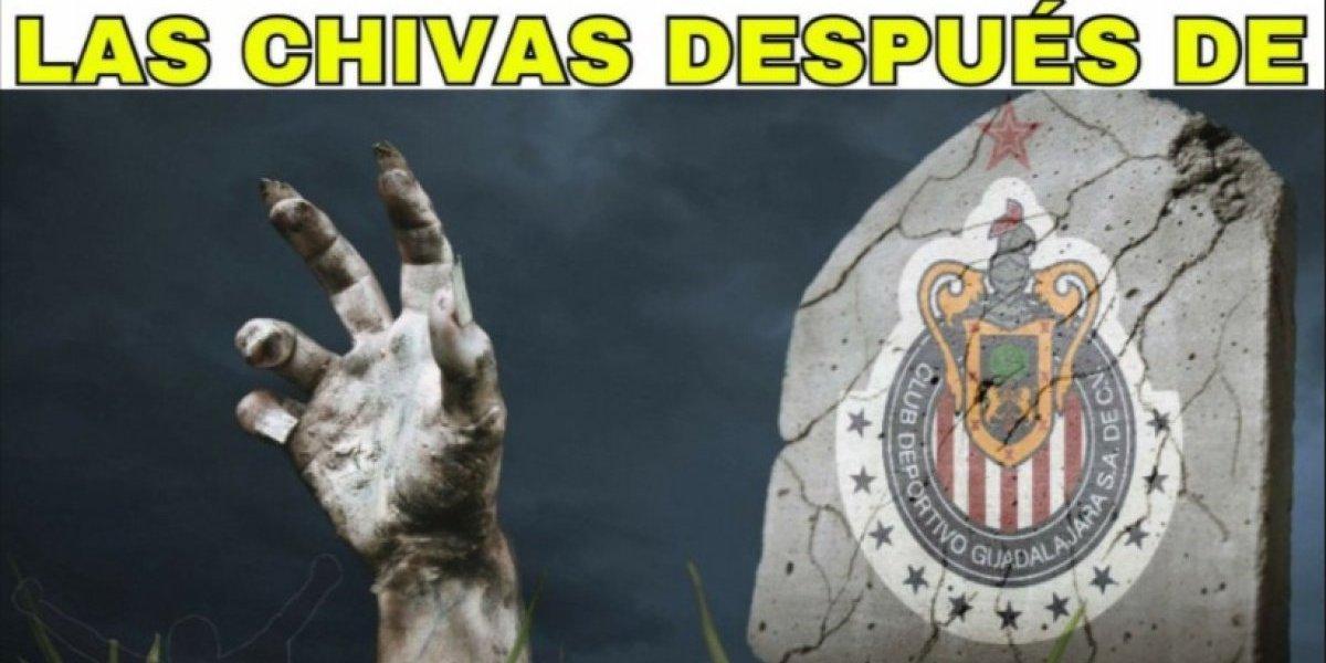 Chivas avanza en Copa pero los memes no perdonan
