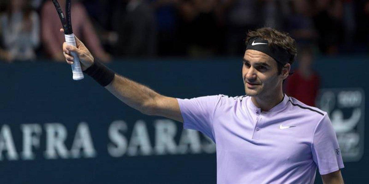 Federer y Del Potro no paran de ganar en Basilea