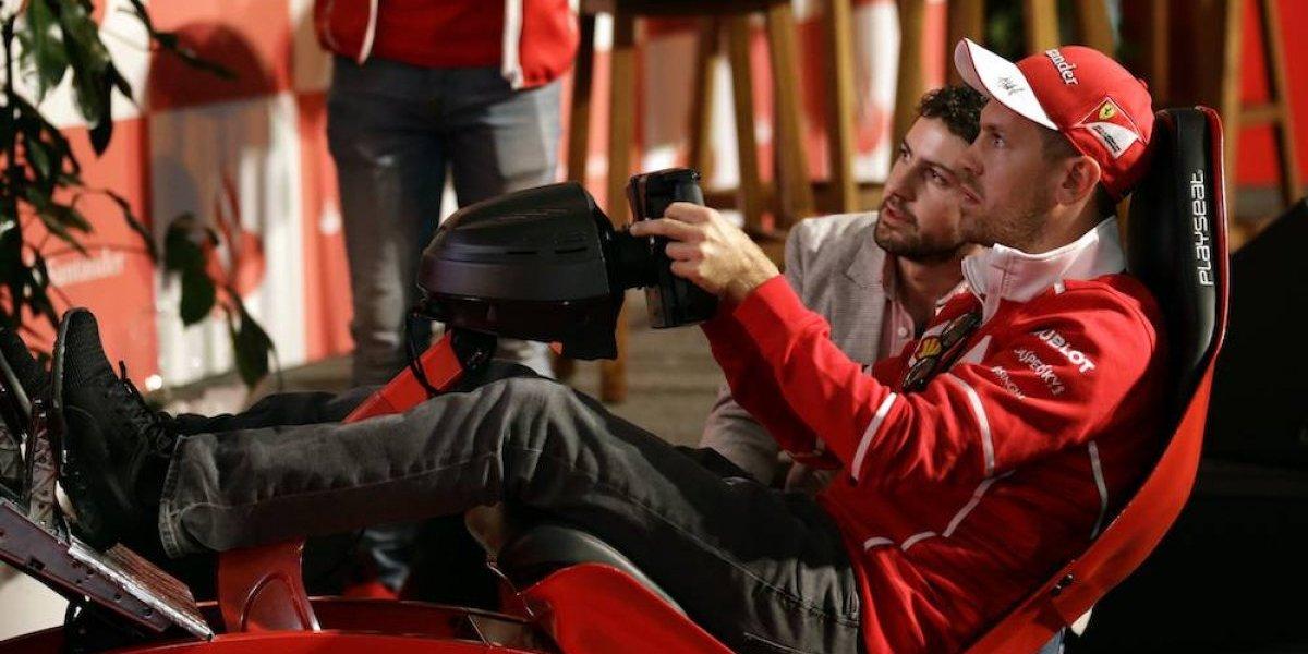 """""""Es difícil correr en la pista de México"""": Sebastian Vettel"""