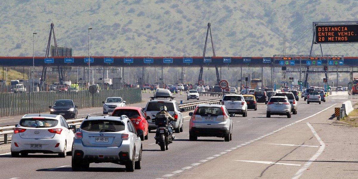 Morimos de envidia: 388 mil vehículos saldrán de la RM por fin de semana largo