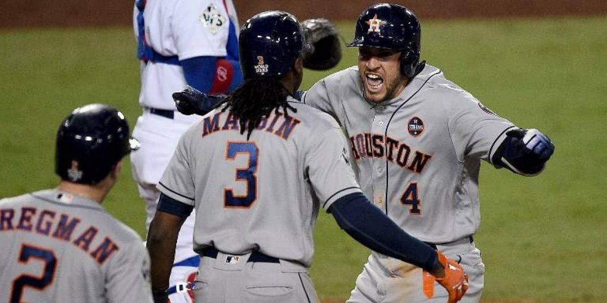 Astros derrotan a Dodgers y empatan la Serie Mundial en espectacular juego