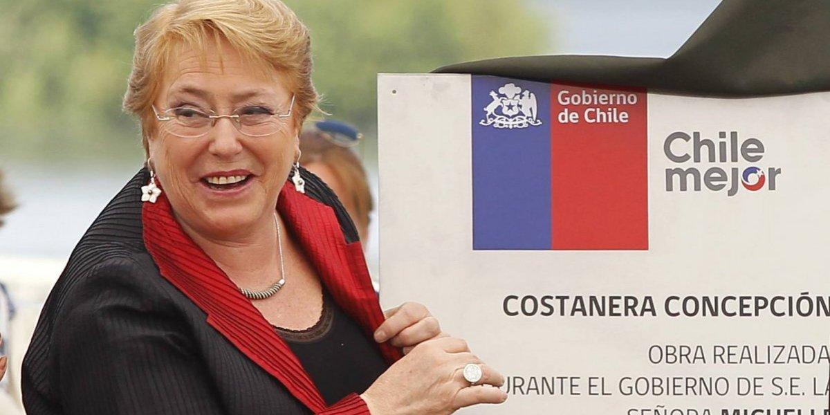 Presidenta Bachelet inaugura Costanera Chiguayante en el marco de inversiones en Biobío