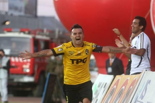 Leonardo Monje quiere volver a gritar gol en Coquimbo / Agencia Uno
