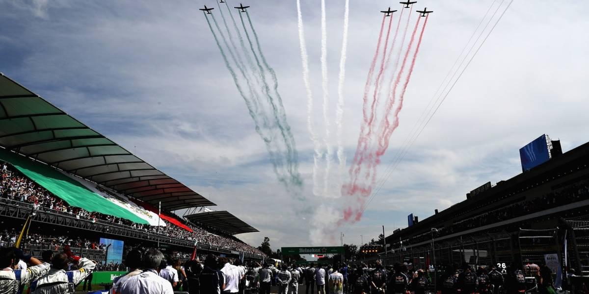 VIDEO: Empieza la fiesta en el AHR para recibir el Gran Premio de México