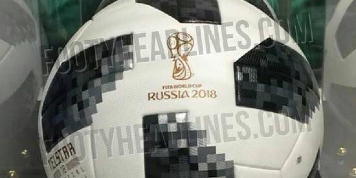 Filtran posible balón que se usará en Mundial de Rusia