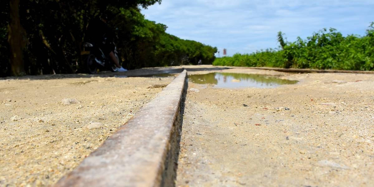 El olvido del tajamar de Bocas de Ceniza en Barranquilla