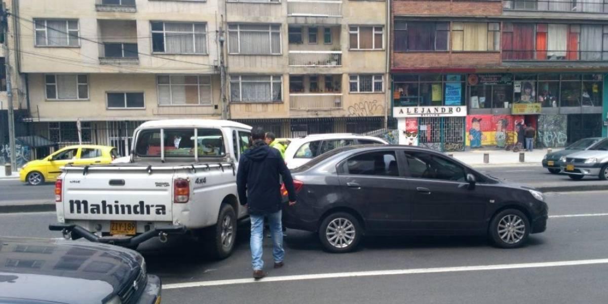 ¡Atención! Accidente dificulta la movilidad en el norte de Bogotá