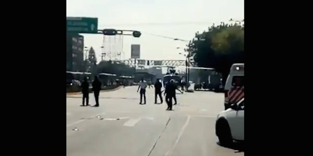 Balacera en Vallejo y Cuitláhuac deja un policía lesionado
