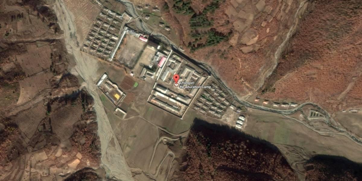"""Revelan imágenes satelitales de los hostiles centros de """"reeducación"""" de Kim Jong-un"""