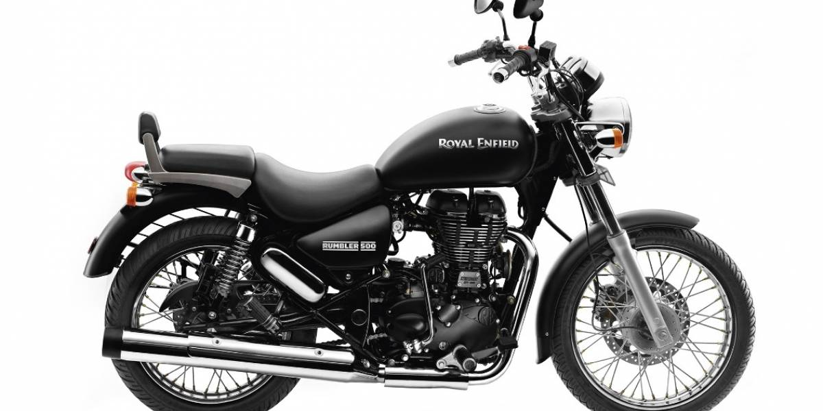 Royal Enfield Rumbler 500: la clásica motocicleta para rodar y rodar