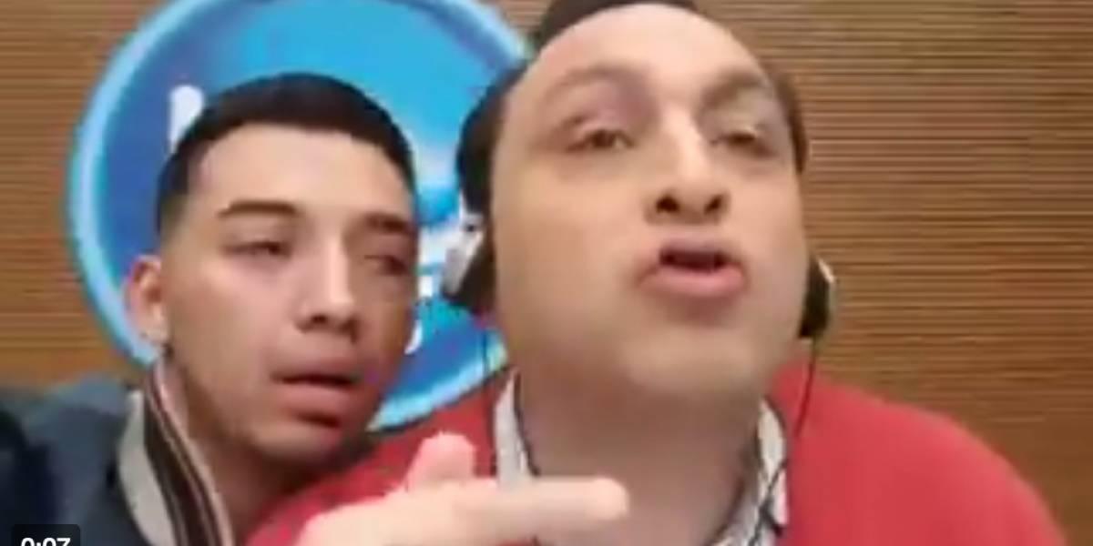 Jorge Alfredo Vargas se puso furioso cuando le pidieron esta 'selfie'