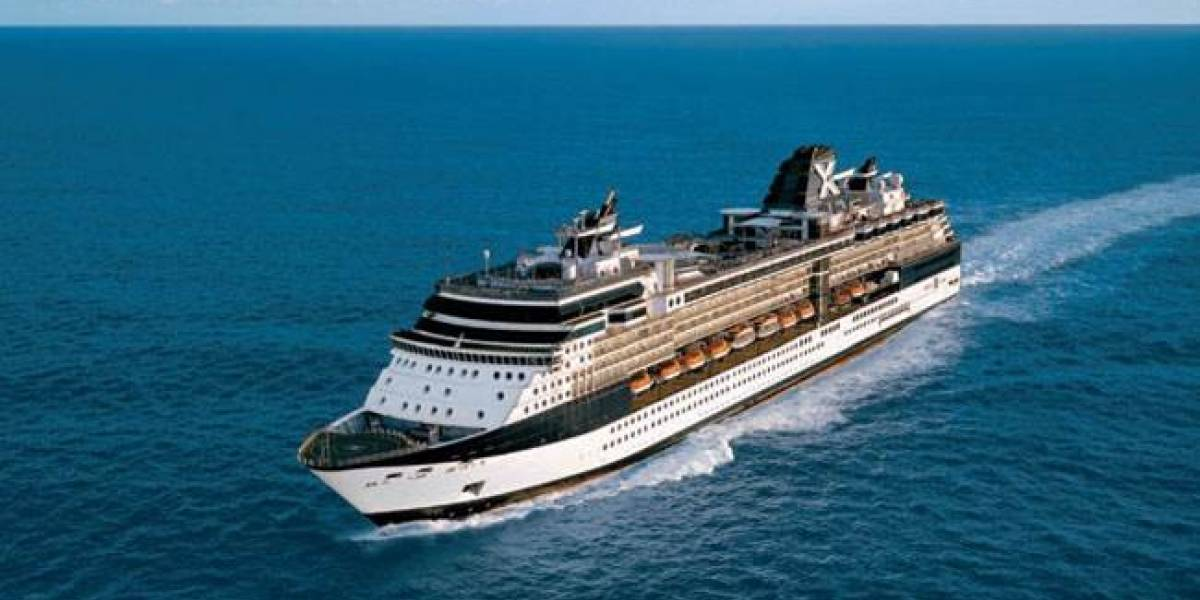 Turismo confirma llegada del crucero Celebrity Summit