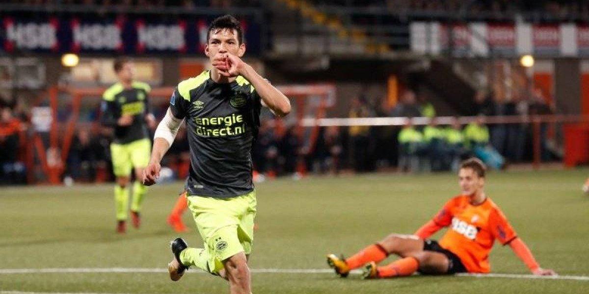 Chucky mantiene racha goleadora; PSV avanza en la Copa de Holanda